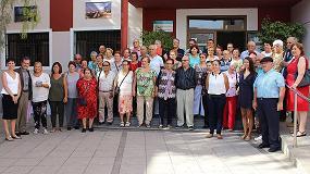 Foto de �xito de participaci�n en el I Encuentro Regional de Mayores por el Reciclaje en Fuerteventura