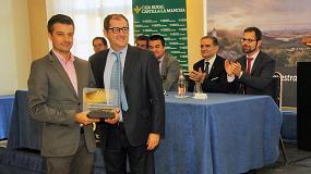 Foto de Pieralisi presente en el Premio Cornicabra 2015 de la D.O. Montes de Toledo