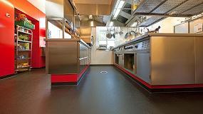 Foto de Una hamburguesería de Alemania elige el suelo Altro Stronghold 30 / K30 tras la reforma de sus instalaciones