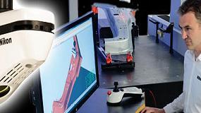 Picture of Nikon Metrology presenta su nuevo esc�ner l�ser InSight L100 para m�quina tridimensional