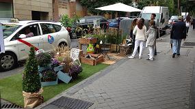Foto de La Comunidad Verde promueve alrededor de 50 jardines ocupando plazas de aparcamiento