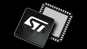 Foto de Un circuito integrado para gesti�n de potencia de STMicroelectronics, en los discos duros de Kingston