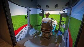 Foto de Un sistema de realidad virtual sumerge a los ingenieros de Massey Ferguson en el universo del dise�o de tractores
