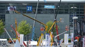 Picture of CeMAT presenta en su recinto descubierto las tecnolog�as de elevaci�n y de acceso en altura