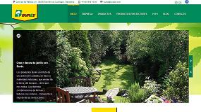 Foto de Burés S.A.U. presenta su nueva página web