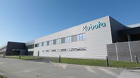 Foto de Kubota despega con su nueva factoría en Francia