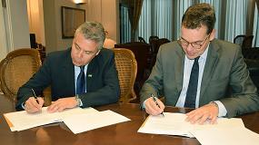 Foto de BASF Construction Chemicals firma un convenio de colaboraci�n con el Col�legi d'Enginyers de Camins, Canals i Ports de Catalunya