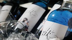 Foto de Emprendedores vascos crean G�k, un original vino de color azul