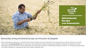 Foto de Syngenta lanza el Blog Alimentando con Innovación