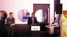 Picture of Tecnolog�a y soluciones inteligentes en la presentaci�n de BIEMH en la EMO de Mil�n
