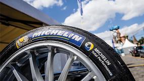 Foto de Michelin, proveedor del Campeonato FIA de Fórmula E