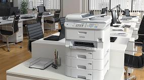 Foto de Las impresoras de inyección producen un 94% menos de residuos y consumen un 96% menos de energía que las soluciones láser