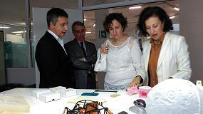 Foto de Aiju recibe la visita de la directora general del Ivace