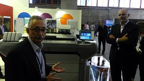 Foto de Canon plasma en C!Print Madrid cómo mejorar la productividad de los negocios