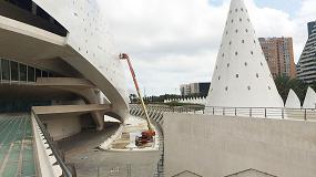 """Foto de La Ultraboom 1350SJP se erige en """"la sexta maravilla"""" de la Ciudad de las Artes y las Ciencias"""