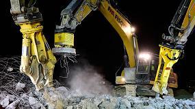 Foto de Demolición de un puente a máxima velocidad gracias a los completos equipos de Atlas Copco