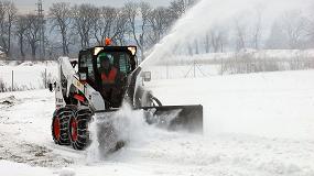 Foto de La gama Bobcat para mantenimiento invernal sigue creciendo