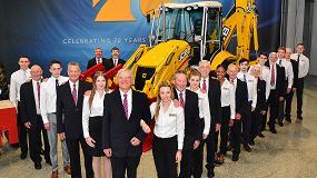 Foto de JCB lanza una excavadora en edición limitada y da el día libre a sus empleados por su 70 aniversario