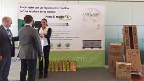 Foto de Ambilamp lleva el reciclaje de lámparas al Congreso Nacional de Fenie