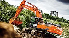 Foto de La excavadora ZX350LC-6 de Hitachi ofrece durabilidad sin comprometer la eficiencia