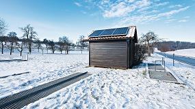 Foto de Energía solar para centrales aisladas de tratamiento de agua