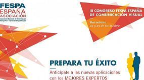 Foto de Barcelona acoge el III Congreso Fespa España