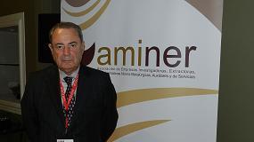 Foto de Entrevista a Francisco Moreno, presidente de Aminer y comisario de MMH