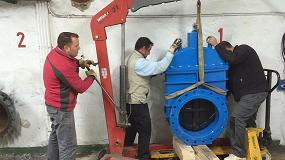 Foto de Saint-Gobain PAM España suministra válvulas a la ETAP Lloseta