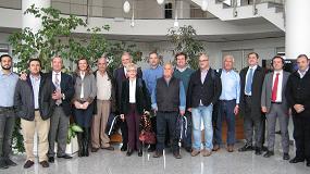 Foto de Una delegación española visita Pieralisi en Italia