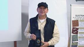 Foto de Heriberto Huerta, ganador del concurso de fotografía de Kekkilä