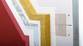 Foto de Sistema de fachada ligera: Aquapanel y Sate con lana mineral