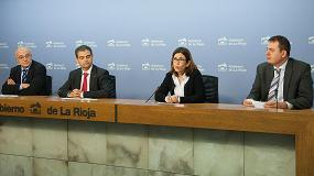 Foto de La Rioja y Cataluña apuestan por el posicionamiento europeo de la I+D+i empresarial de la región del Valle del Ebro