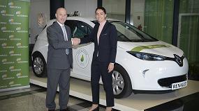 Foto de Iberdrola y Renault firman un acuerdo para impulsar la movilidad el�ctrica en Espa�a