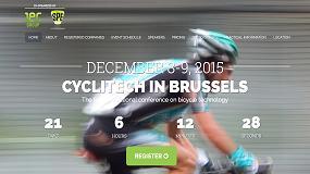 Foto de Cyclitech, punto de encuentro de la industria y de los aficinados al mundo de la bicicleta
