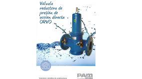 Foto de Saint-Gobain PAM España edita el catálogo de la válvula reductora de presión de acción directa DRDV