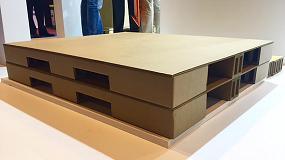 Foto de Tecnicarton desarrolla un palé de cartón que soporta hasta 3.000 kilos y sólo pesa cinco