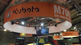 Foto de El M7001 y los nuevos implementos marcan la presencia de Kubota