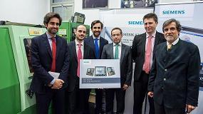 Foto de Siemens y la Universidad Pontificia Comillas Icai-Icade se unen para formar a sus alumnos en CNC Sinumerik
