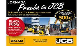 Foto de JCB España completa el tour de demostraciones 'PruebatuJCB'