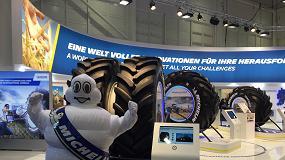 Foto de Michelin cuantifica en Agritechnica los beneficios de la tecnología UltraFlex
