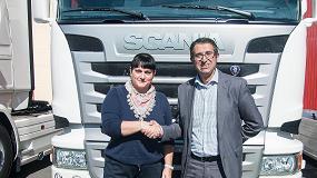Foto de Transgesol S.L. incorpora a su flota 12 unidades Scania R 450