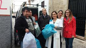 Foto de Grupo Marwen dona 500 kg de ropa usada a C�ritas