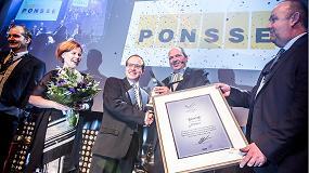 Fotografia de Ponsse gana el Swedish Steel Prize 2015