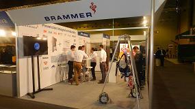 Foto de Brammer estuvo presente en el Salón Internacional de la Minería Metálica