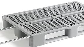Picture of Smart-Flow lanza su nuevo pal� Smart Euro Plastic Pallet