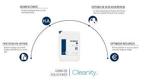 Foto de Cleanity presenta Acidesin, su nueva solución que combina la eficacia de un detergente ácido y la seguridad de un desinfectante en un único producto