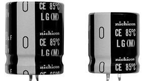 Foto de Condensadores electrol�ticos de aluminio con ratio de 600 V
