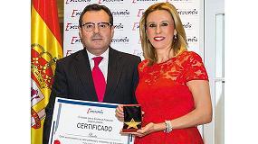 Foto de Panter recibe el premio 'Estrella de Oro' a la excelencia profesional