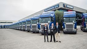 Foto de Transports Canyaes S.L. incorpora a su flota 46 unidades Scania R 450