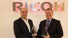 Foto de Los sistemas de producci�n de hojas en color de Ricoh logran cinco estrellas en los premios BLI PRO Awards